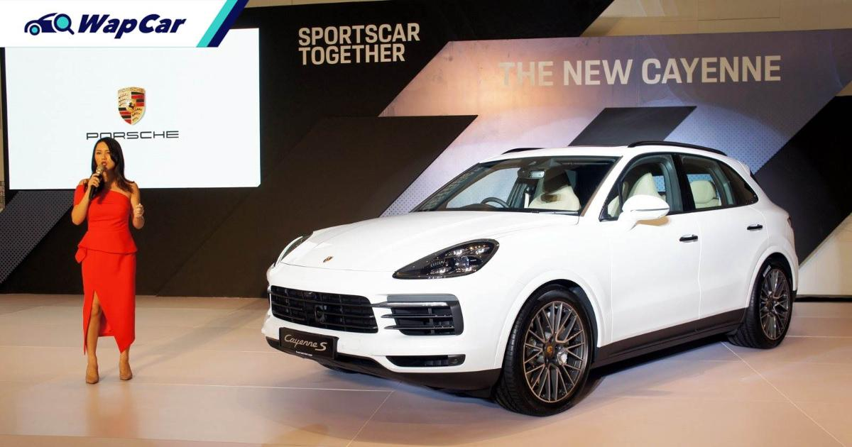 A CKD Porsche Cayenne will be launched in Malaysia, CKD Taycan next 01
