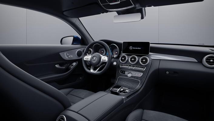 2020 Mercedes-Benz C-Class Coupe C 200 AMG Line Interior 002