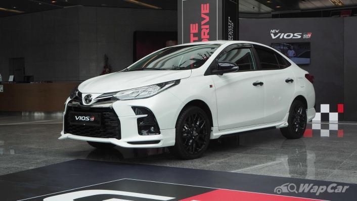 2021 Toyota Vios GR-Sport Exterior 001