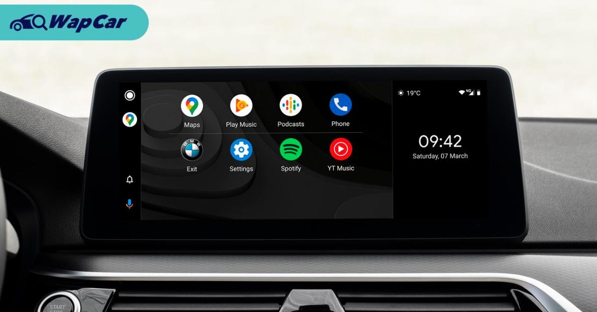 Android Auto for BMW models in Malaysia will arrive in 2021, details TBA 01