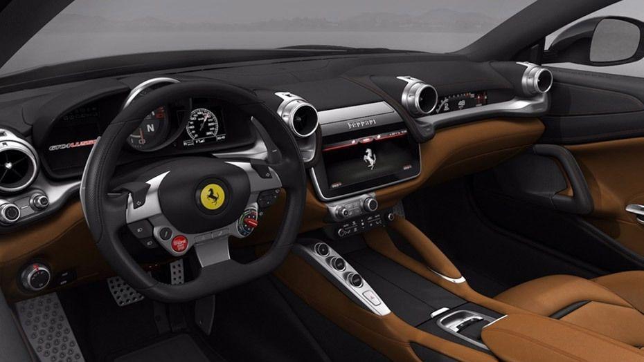 Ferrari GTC4Lusso (2016) Interior 001