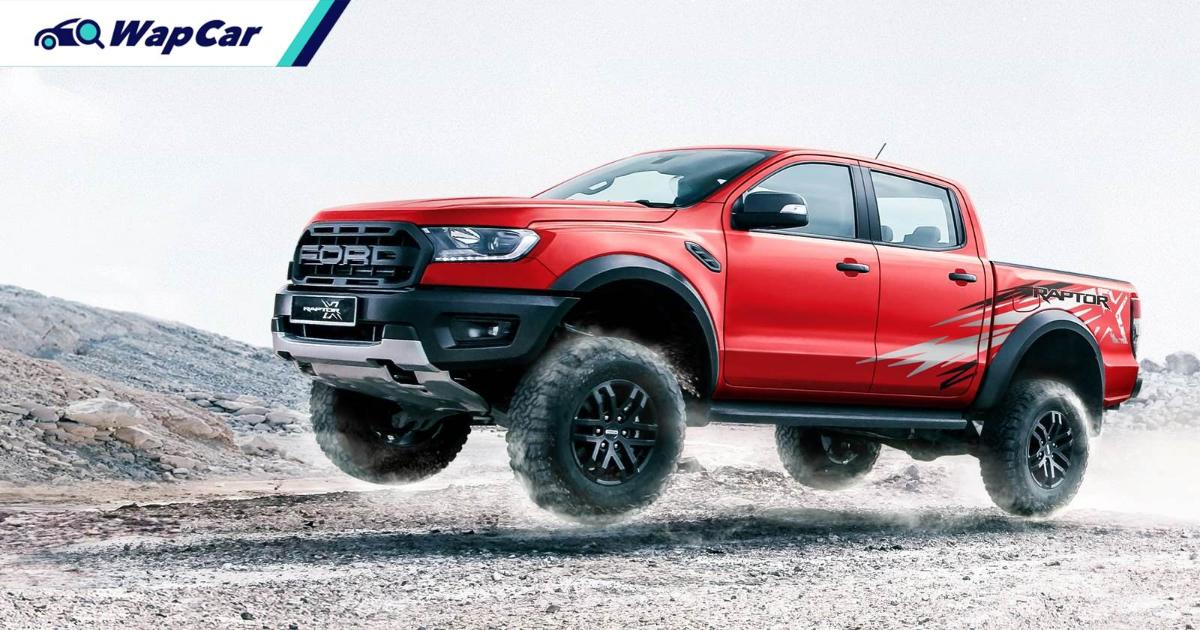 New 2021 Ford Ranger Raptor X is seeing Red in Malaysia, priced RM 6k more 01