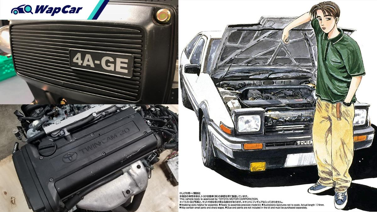 Toyota 4A-GE 16V/20V - legendary 'tofu delivery' engine, what makes them great? 01