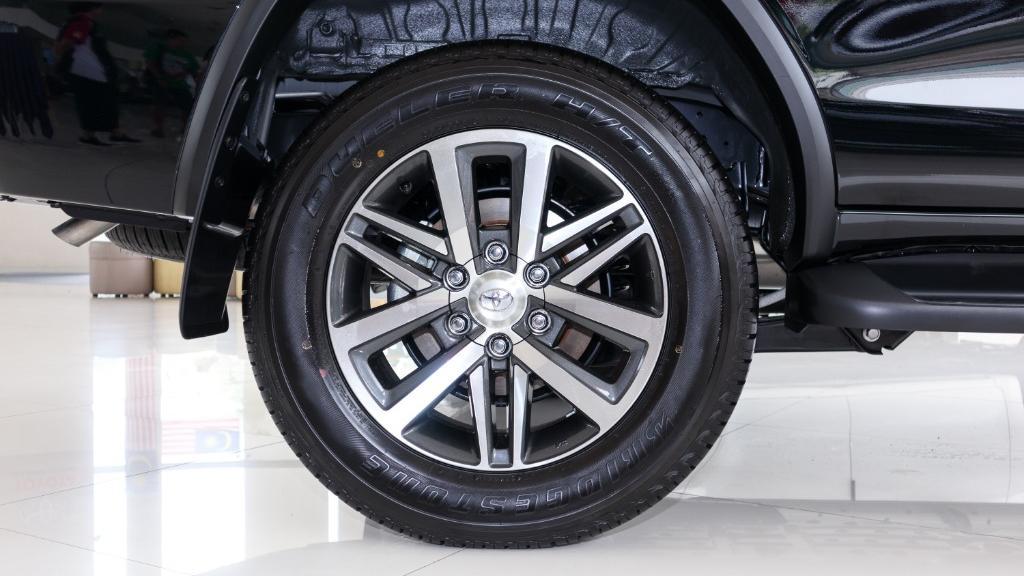 2018 Toyota Fortuner 2.7 SRZ AT 4x4 Exterior 027
