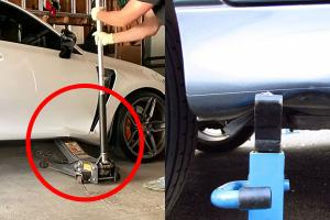 Stupid mistakes with the car jack can ruin your car or risk your life, here's how to avoid them