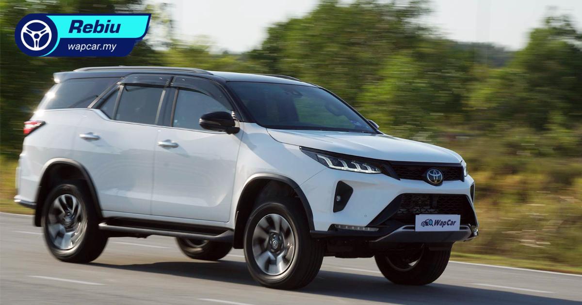 Rebiu: Toyota Fortuner 2.8 VRZ 2021 – teringat pada Land Cruiser dan Mitsubishi Pajero lama! 01