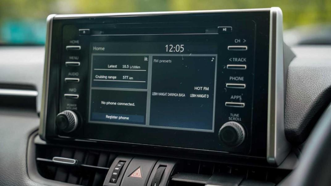 2020 Toyota RAV4 2.5L Interior 003