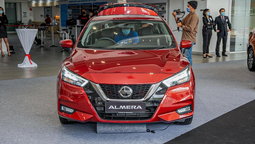 2020 Nissan Almera 1.0L VLT Exterior 002