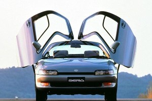 The Toyota Sera - The flyest-looking Toyota ever