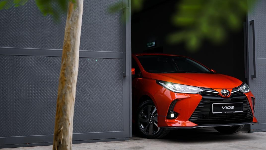 2021 Toyota Vios 1.5J Exterior 009