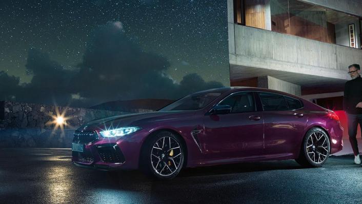 2020 BMW M850i xDrive Gran Coupe Exterior 010