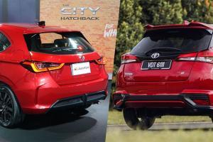 Honda City hatchback vs Toyota Yaris - Saingan terhebat tahun 2021!