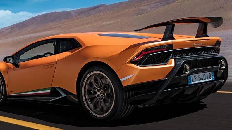 Lamborghini Huracán (2017) Exterior 016