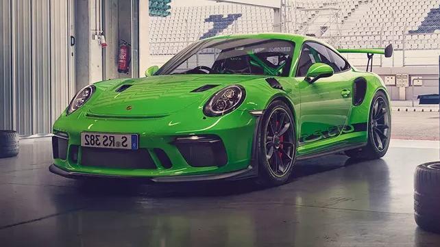 2019 Porsche 911 GT3 RS Exterior 001
