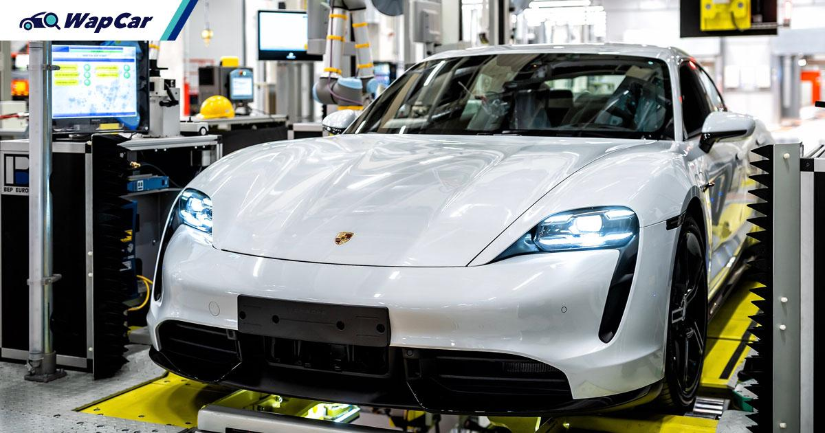 Nearly half of Porsche Asia Pacific's sales come from EVs and hybrids, Q1 2021 its best ever 01