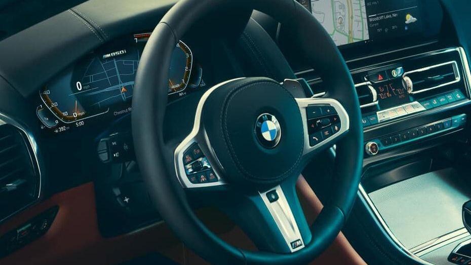BMW 8 Series (2019) Interior 003