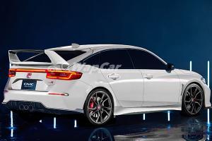 独家猛料:2022 Honda Civic Type R竟然长这样!!