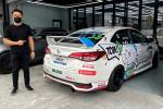 This is ZTH's Tom Goh's new car for Toyota Gazoo Racing Malaysia's Vios Challenge Cup