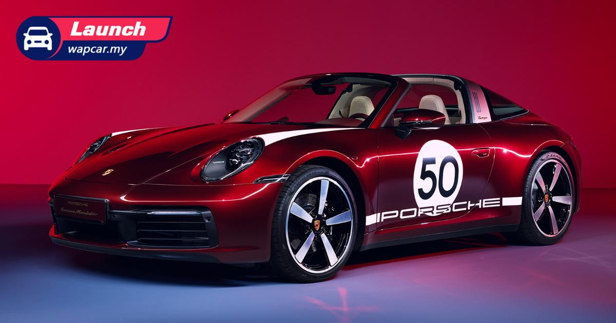 Priced from RM 1.7 mil, the Porsche 911 Targa 4S Heritage Design Edition now lands in Malaysia 01