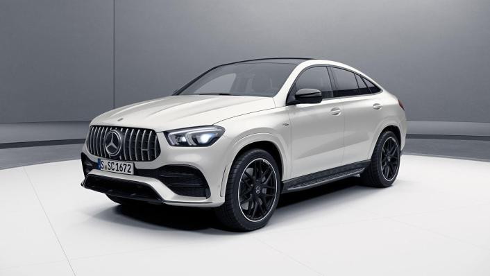 2020 Mercedes-Benz AMG GLE 53 4Matic Coupe Exterior 001