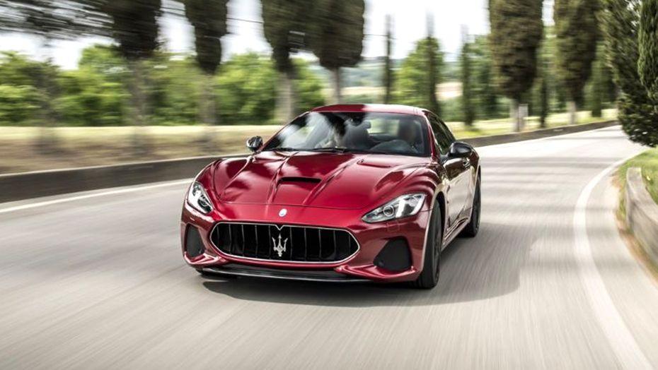 2018 Maserati GranTurismo GranTurismo MC Exterior 002
