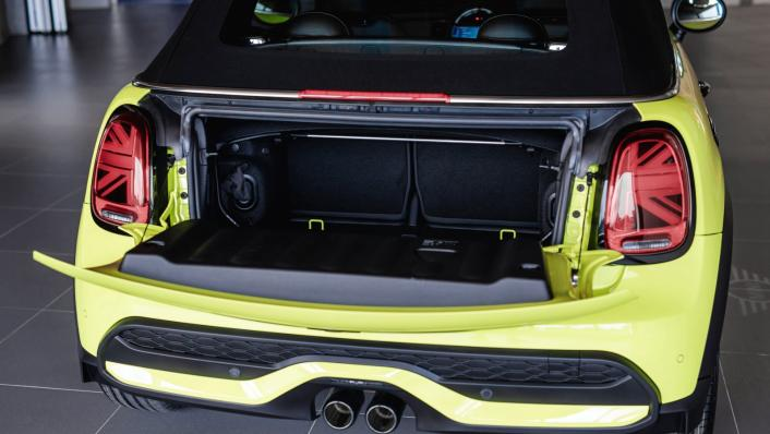 2021 MINI Convertible Cooper S Interior 007
