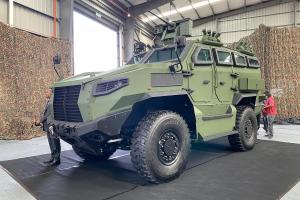Mildef HMA 4X4 dilancarkan - 7.2 liter, 1,116 Nm, kenderaan berperisai pertama buatan Malaysia!