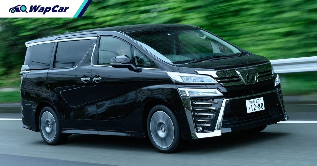 New upgraded Toyota Alphard / Vellfire launching in May 2021, for Malaysia too 01