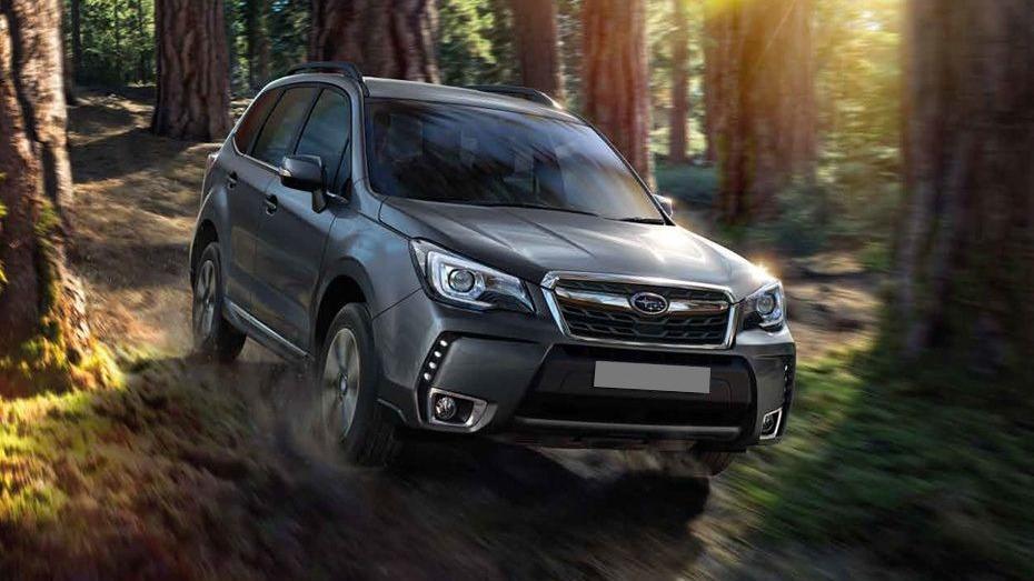 Subaru Forester (2018) Exterior 003