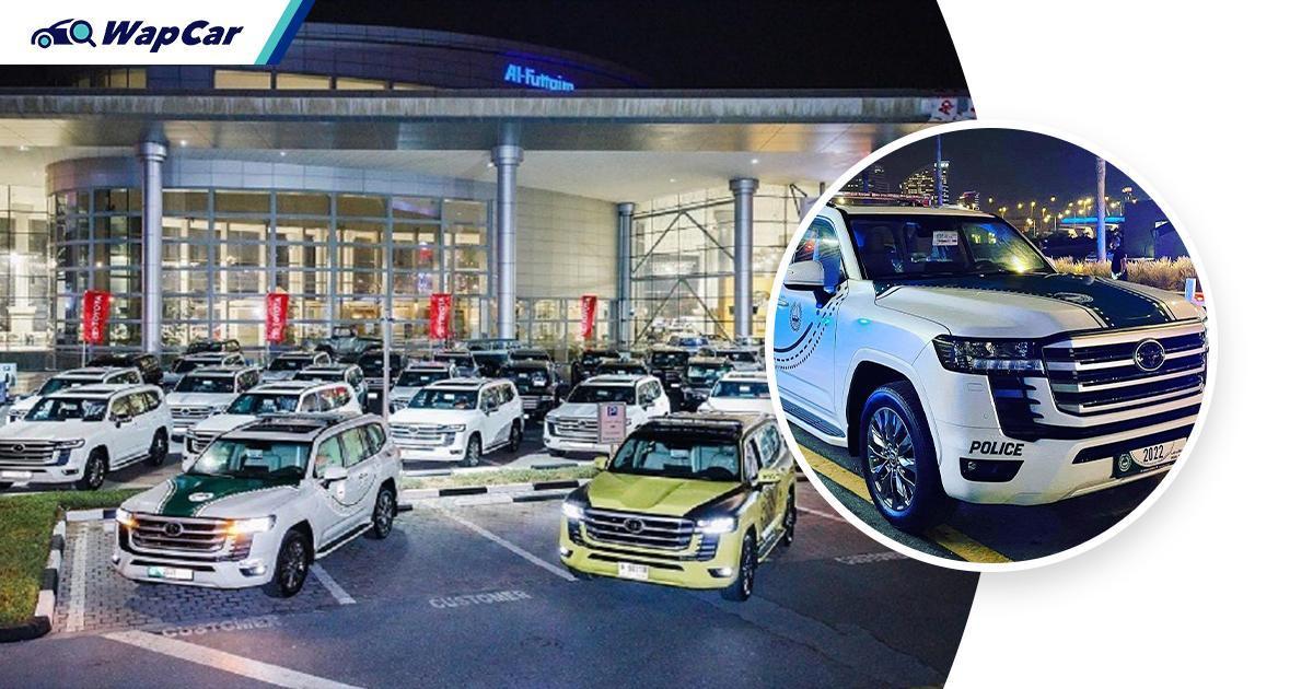 2022 Toyota Land Cruiser 300 joins the Dubai Police Force 01