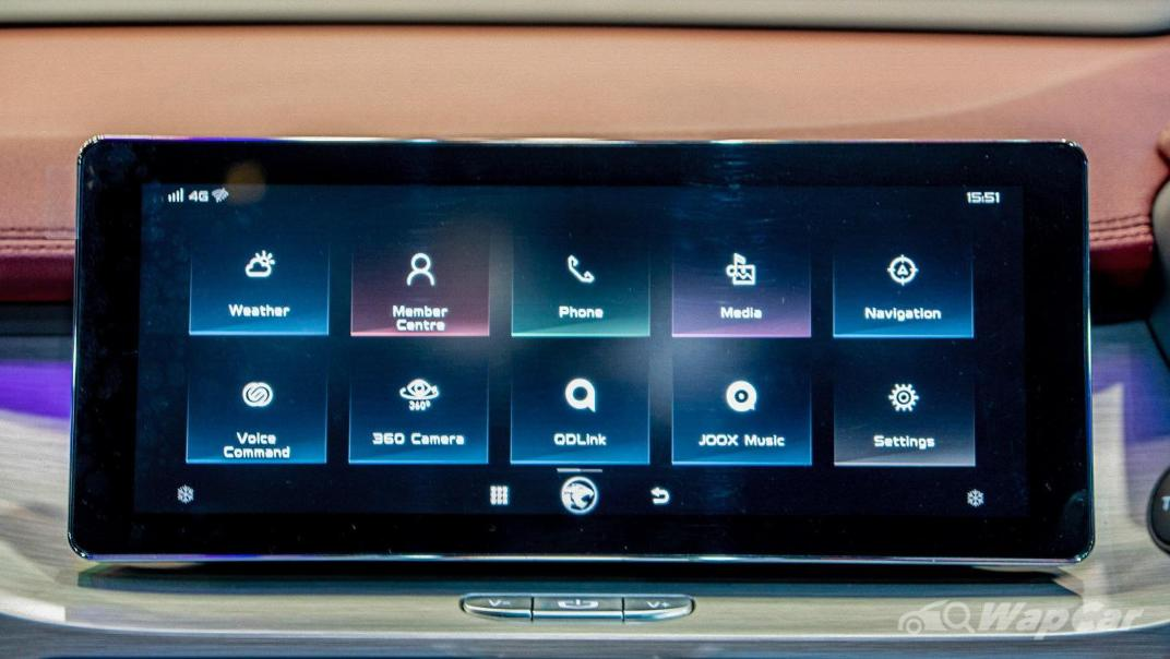 2020 Proton X50 1.5T  Flagship Interior 097