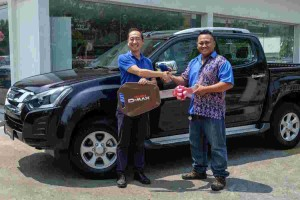 Isuzu Buy and Win campaign concludes with two lucky winners