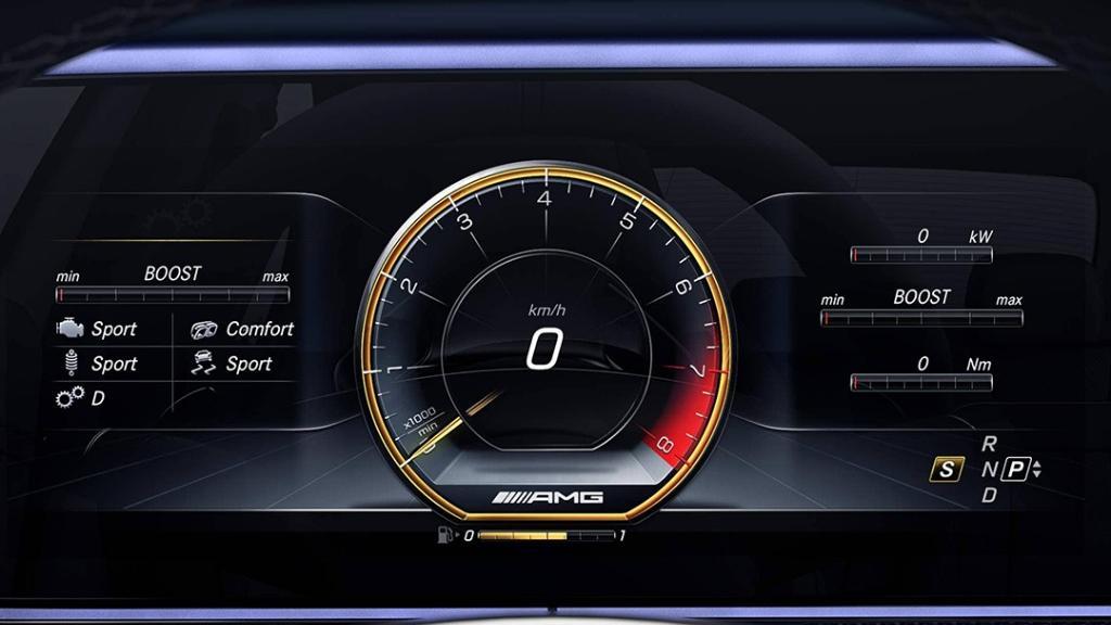 Mercedes-Benz AMG E-Class (2019) Interior 009