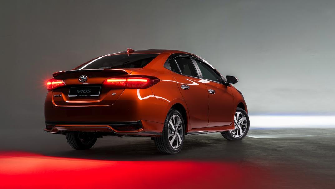 2021 Toyota Vios 1.5E Exterior 021