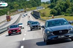 Pusat servis Mazda bertukar kepada minyak enjin Petronas Syntium