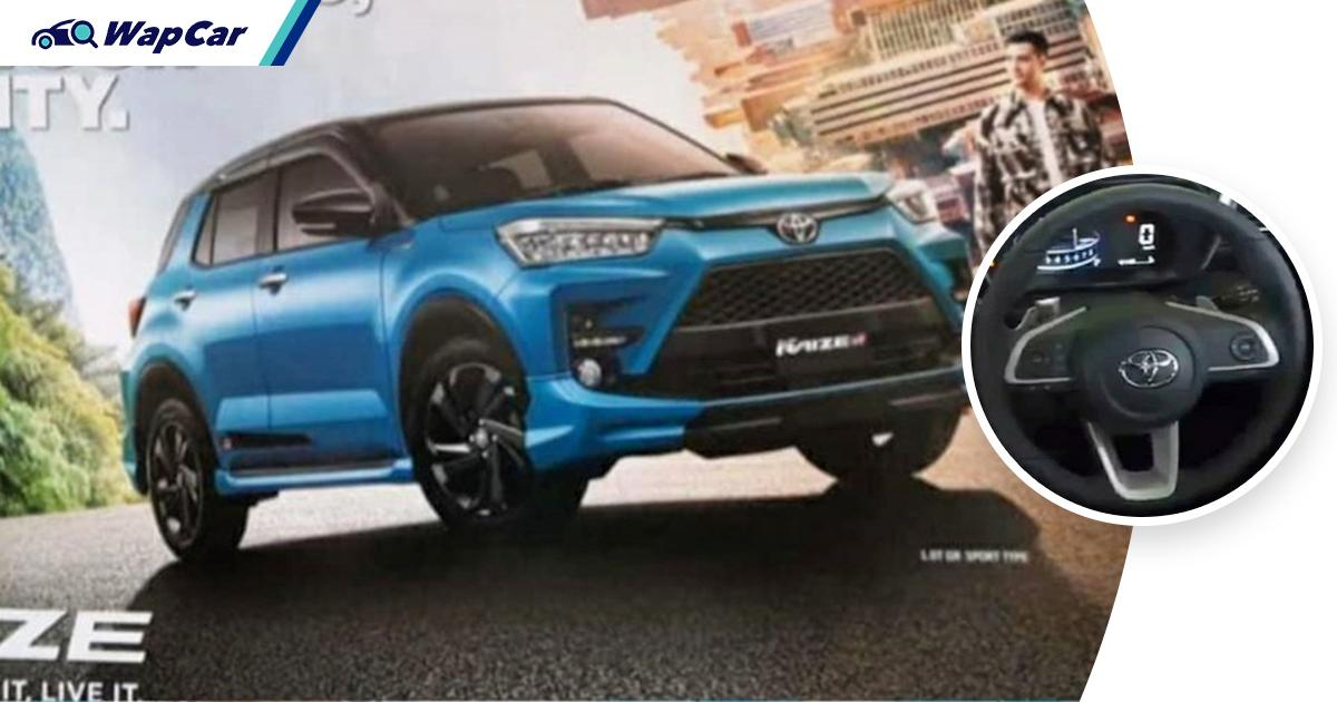 Leaked: Want this for your Ativa? Indonesia-spec Toyota Raize GR Sport gets paddle shifters! 01