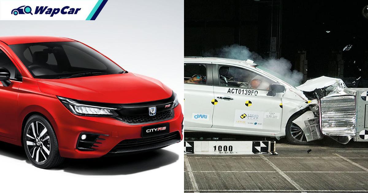 "Honda City wins ASEAN NCAP ""Consistent 5-star Award"", safer than Vios? 01"
