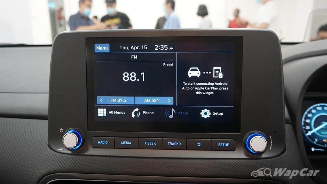 2021 Hyundai Kona 2.0 Active Interior 018