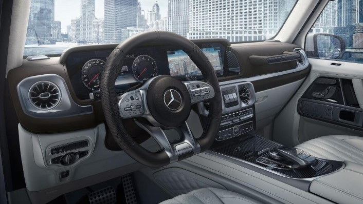 Mercedes-Benz AMG G-Class (2019) Interior 003