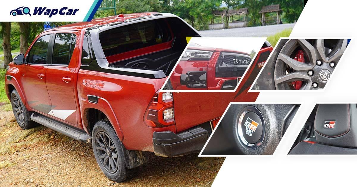 Closer look: Thailand's 2021 Toyota Hilux GR Sport 01