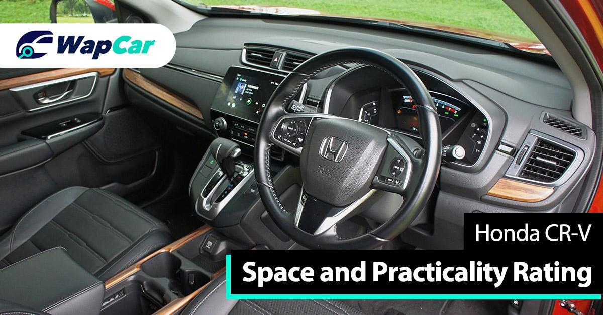 Ratings – Honda CRV's space and practicality, top marks for both 01