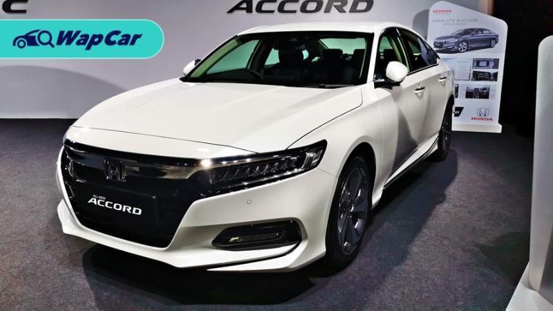 Honda Accord adalah sedan segmen D yang paling laris di Malaysia 01