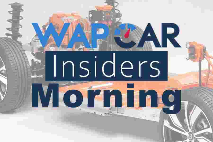 Wapcar Morning Insiders (Sep. 26, 2019)