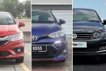 Honda City vs Toyota Vios vs Volkswagen Vento – which B-segment sedan is for you?