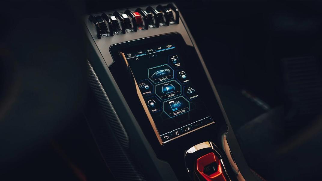 Lamborghini Huracán (2019) Interior 016