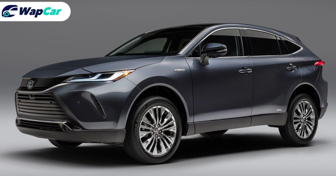 All-new 2021 Toyota Venza revealed, rebadged Toyota Harrier for the US 01