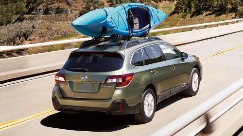 Subaru Outback (2018) Exterior 008