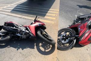 Yamaha Exciter 155 VVA kemalangan di Vietnam! Tiada ABS punca?