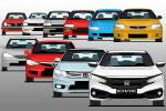 The Honda Civic in 10 Generations - The best car from Honda?