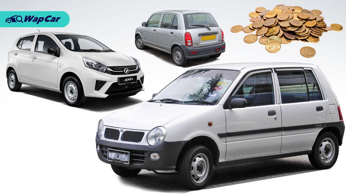 "The evolution of Perodua ""kosong"" spec cars 01"